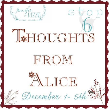 Thoughts from Alice house 6