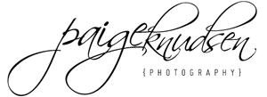 simple thoughts from Paige Knudsen Photography logo